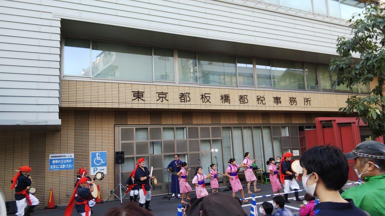 遊座大山商店街の収穫祭